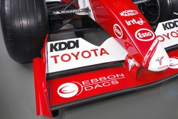 Detail of the new Toyota TF105