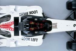 Detail of the new BAR Honda 007