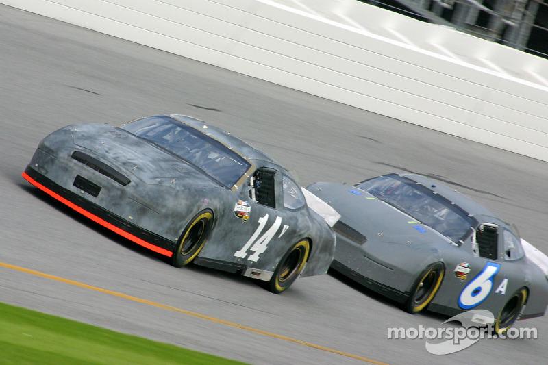 John Andretti and Mark Martin