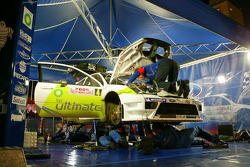 Ford Rallye Sport service area