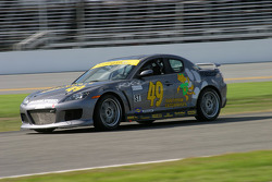 #49 Southpaw Racing Mazda RX-8: Mark Eaton, Mike Halpin