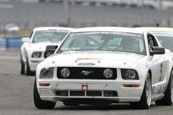 #5 Blackforest Motorsports Mustang GT: Ian James, Tom Nastasi