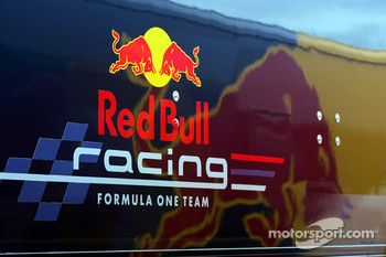 Red Bull Racing transporter