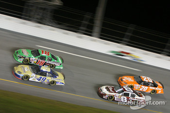 Ken Schrader, Bobby Labonte, Dale Earnhardt Jr. and Tony Stewart