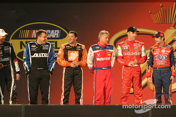 Drivers presentation: Ryan Newman, Tony Stewart, Ricky Rudd, Jeremy Mayfield and Jeff Gordon