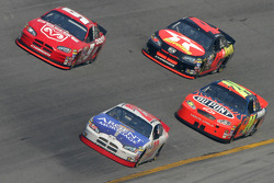 Mike Skinner, Jeff Gordon, Kasey Kahne and Jamie McMurray