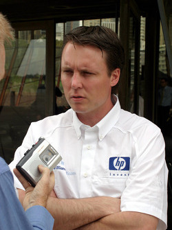 Williams-BMW HP event at the Opera House in Sydney: Sam Michael