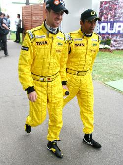 Tiago Monteiro and Narain Karthikeyan