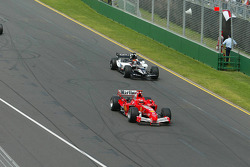 Michael Schumacher and Christijan Albers
