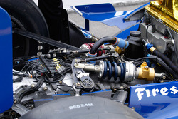 Indy car transmission and suspension