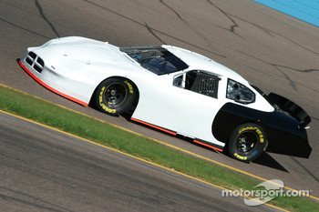 Reed Sorenson tests his Busch series car