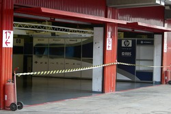 No entry in the Williams-BMW garage