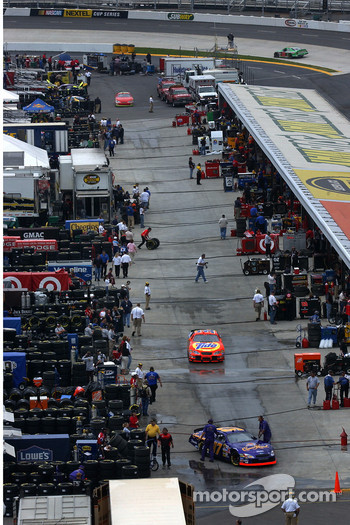 Martinsville garage area