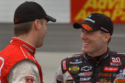 Jeremy Mayfield and Kevin Harvick
