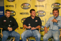 Press conference: Bobby Labonte, Justin Labonte and Terry Labonte