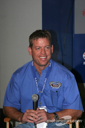 Co-Grand Marshall Troy Aikman
