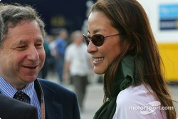 Jean Todt and girlfriend Michelle Yeoh