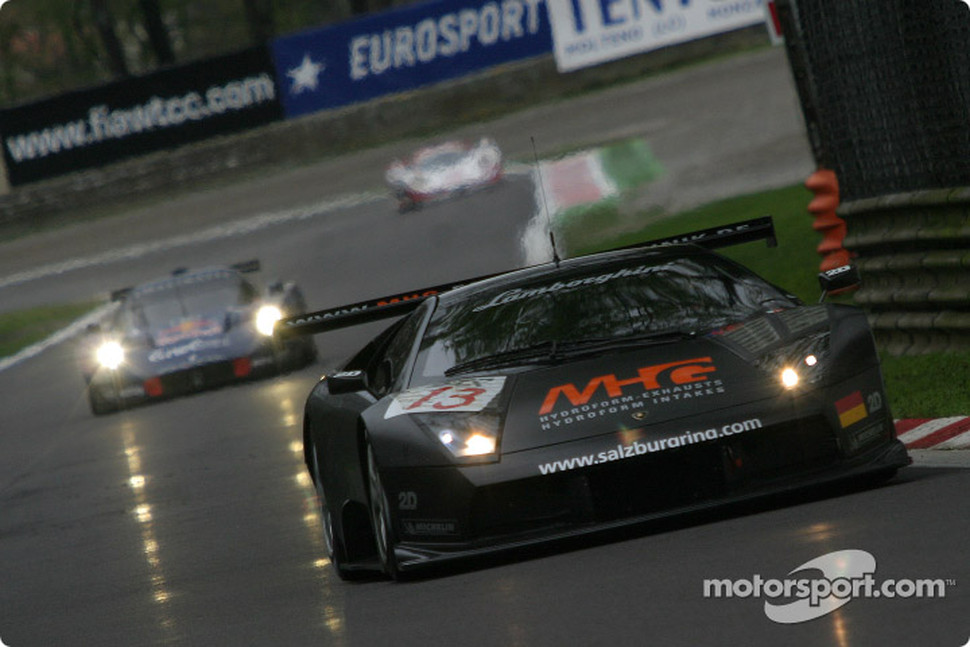 #13 Reiter Eng. Lamborghini Murcielago R: Norman Simon, Peter Kox