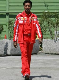 Balbir Singh, personal physio of Michael Schumacher