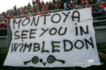 Message to Juan Pablo Montoya