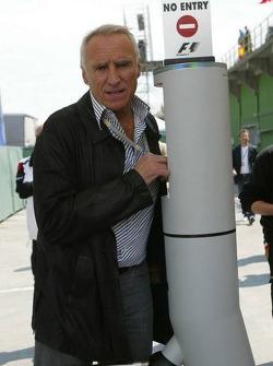 Dietrich Mateschitz, owner of Red Bull Racing