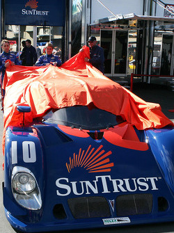 SunTrust Pontiac Riley team unveiled the new livery on the No. 10 Daytona Prototype