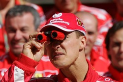 Ferrari photoshoot: Michael Schumacher