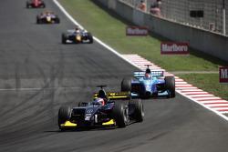 Adam Carroll leads Nelson A. Piquet