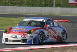 #66 Gruppe M Racing Porsche 996 GT3 RSR: Marc Lieb, Mike Rockenfeller