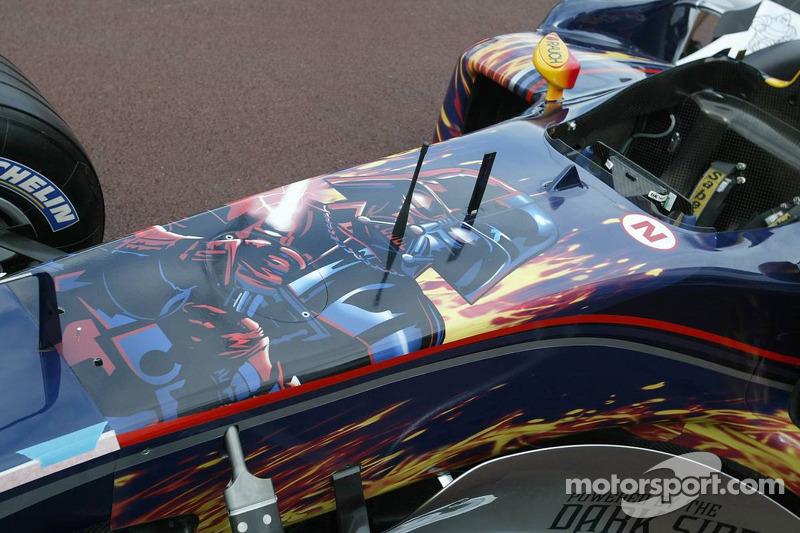 Red Bull Racing mit dem Farbdesign von Star Wars