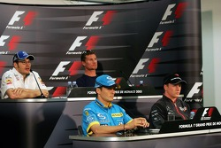 Wednesday FIA press conference: Jacques Villeneuve, David Coulthard, Kimi Raikkonen and Giancarlo Fisichella