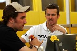 Franck Montagny and Tiago Monteiro