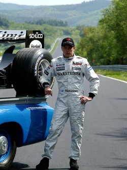 Mercedes-Benz on the Nordschleife photoshoot: Kimi Raikkonen