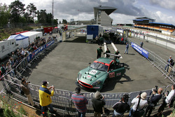 Aston Martin DBR9 at scrutineering