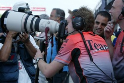 McLaren team members try their hand at photography