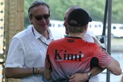 Ron Dennis and Kimi Raikkonen