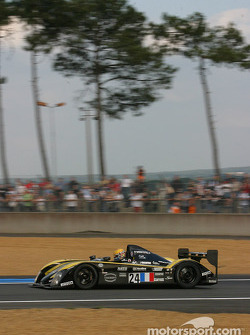 #24 Welter Racing WR Peugeot: Yojiro Terada, Patrice Roussel, William Binnie