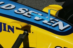 New winglets on the Renault