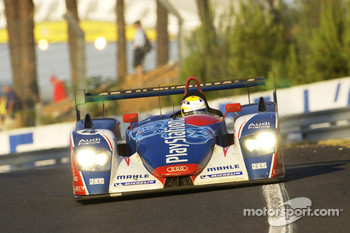 #4 Audi Playstation Team Oreca Audi R8: Franck Montagny, Jean-Marc Gounon, Stphane Ortelli