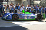 Pitstop for #17 Pescarolo Sport Pescarolo Judd: Sbastien Loeb, ric Hlary, Soheil Ayari