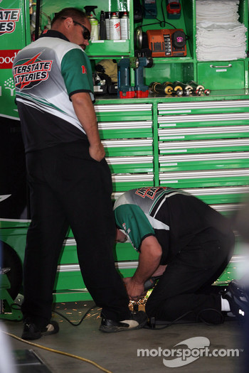 Interstate Batteries Chevy crew members