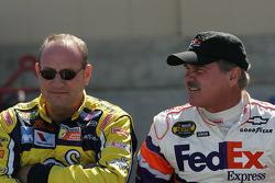 Ken Schrader and Terry Labonte