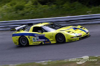 #5 Pacific Coast Motorsports Corvette C5-R: Alex Figge, Ryan Dalziel