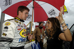 Carl Edwards and Lisa Marie Presley