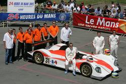 #31 Noel Del Bello Courage CG: Ni Amorim, Romain Iannetta, Christophe Pillon and team