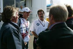 Keke Rosberg, Ralf Schumacher, Dr Mario Theissen, Mario Illien and Werner Heinz