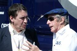 Jools Holland and Sir Jackie Stewart
