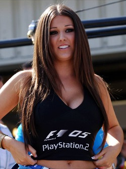 Playstation girl Lucy Pinder