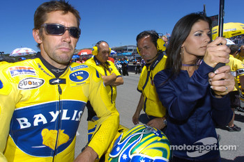 Troy Bayliss on the starting grid