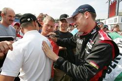Robert Doornbos with his fans